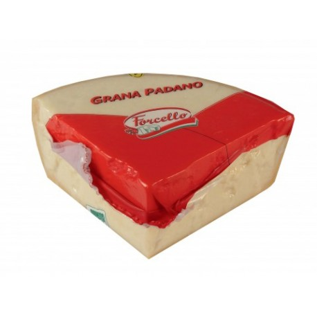 GRANA PADANO 10-12 MESES FORCELLO 1/8 (4,5 KG X 2 UDS)