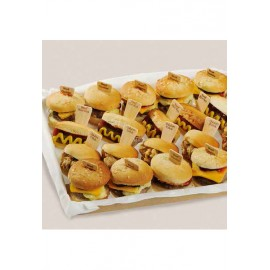 @MIX MINI HAMBURGUESAS Y HOT DOGS (18 GR X 96 UDS) LADUC