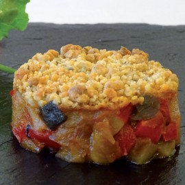 CRUMBLE DE TOMATE CON AZUCAR MORENO CNG (75 GR X 24 UDS) KUALYS