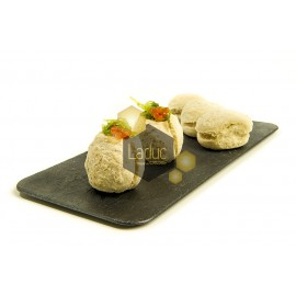 MINI PIZZA BUNS NATURAL 100GR x 140Ud